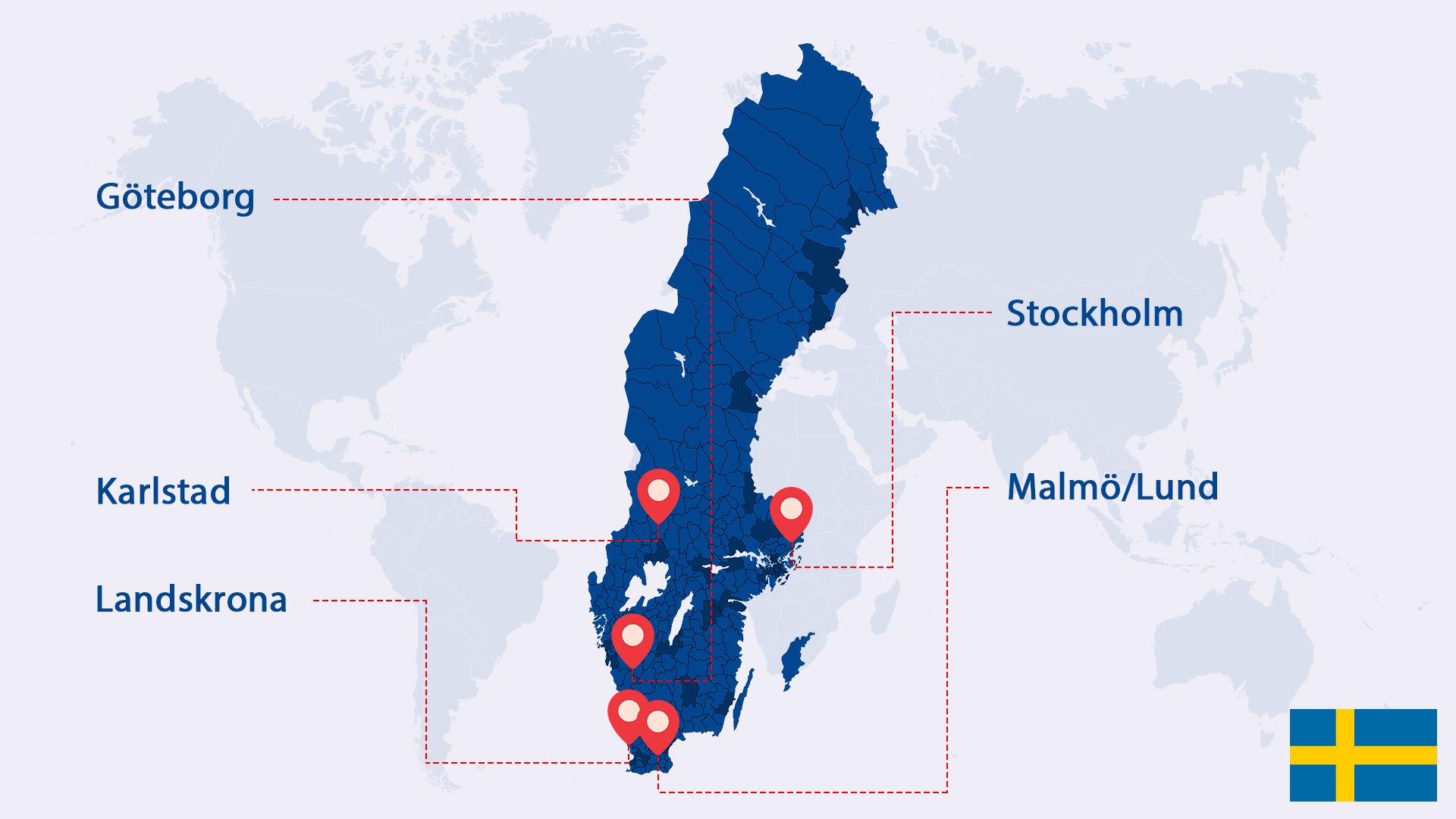 Siriab in Swedon