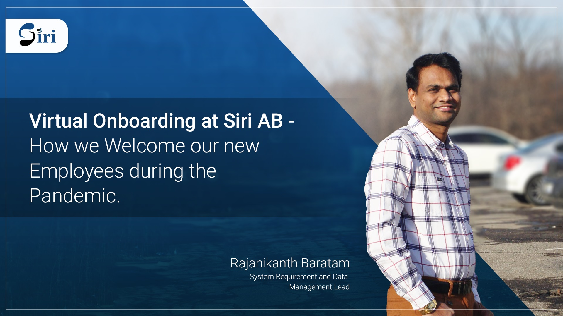 Rajanikanth Baratam Siri AB Virtual Onboarding