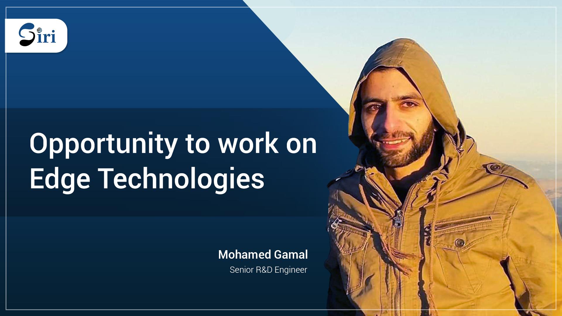 Mohamed Gamal Siri AB New Recruit